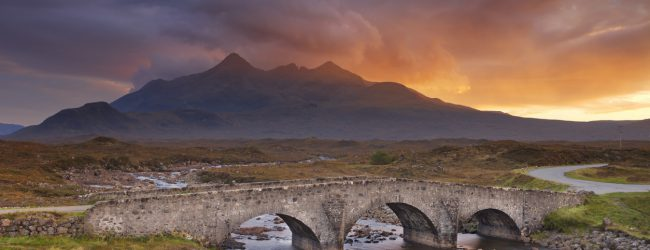 Isle of Skye och the Cuillins